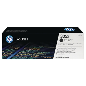Cartouche laser HP 305X CE410X noire haute capacité