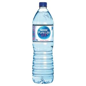 Plateau de 6 bouteilles d eau nestle pure life 1,5 l