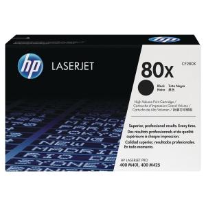 Cartouche laser HP 80X CF280X noire