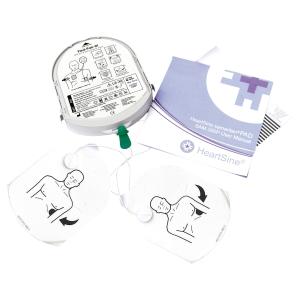 Pad-pack batterie et électrodes adultes pour défibrillateur Samaritan Pad 350P