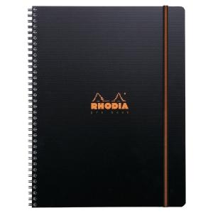 Cahier Rhodiactive Probook - A4+ - 160 pages quadrillées 5 x 5