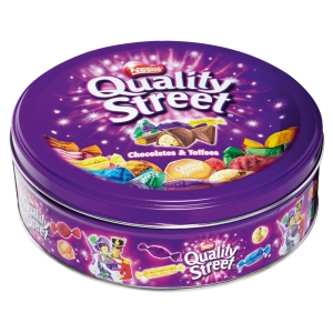 Boite assortiment de bonbons au chocolat quality street 480g