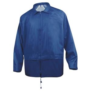 Ensemble de pluie Deltaplus EN400 tissu polyester enduit PVC marine taille M