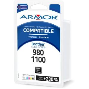 Cartouche d encre Armor compatible équivalent Brother LC980BK - noire