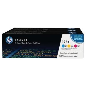 Cartouche de toner HP 125A - CF373AM - 3 couleurs