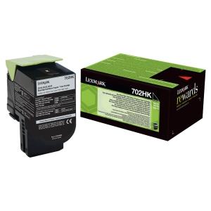 Cartouche laser Lexmark 702hk noire haute capacité