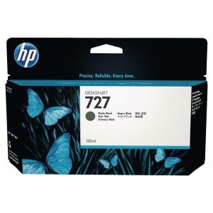 Cartouche d encre HP 727 - B3P22A - noir mat