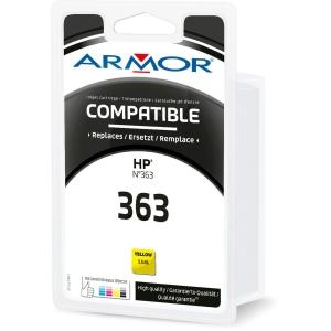 Cartouche d encre Armor compatible équivalent HP 363 - C8773E - jaune