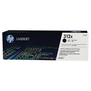 Cartouche laser HP n°312X noire haute capacité