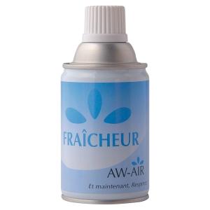 Recharge desodorisant pour diffuseur aw air fraicheur citron eucalyptus 250 ml