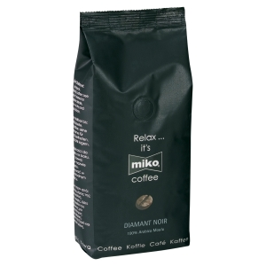 CAFE MOULU MIKO DIAMANT NOIR 1 KG 100% ARABICA