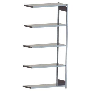 Rayonnage galvanisé Prospace - 5 niveaux - 200 x 124 x 60 cm - élément suivant