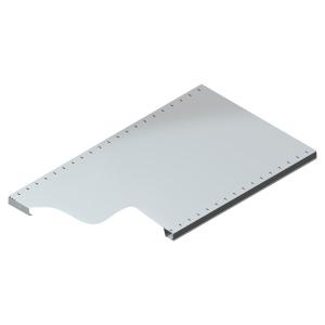 Tablette pour rayonnage galvanisé Provost - 97 x 60 cm