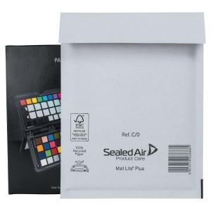 Paquet de 100 pochettes bulles renforcees kraft mail lite plus  c/0
