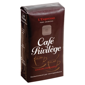 PAQUE DE 250G DE CAFE PRIVILEGE EXPRESSO MOULU