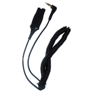 CORDON JACK 3,5MM PLANTRONICS POUR ALCATEL SERIES 8 & 9