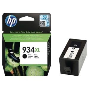 CARTOUCHE JET D ENCRE ORIGINALE HP OFFICEJET 6830 HAUTE CAPACITE NOIRE HP934XL