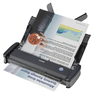 Scanner mobile, Canon P-215II pour format DIN A4