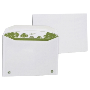 250 enveloppes recyclees extra blanches mise sous pli c4 229x324 90g  gommées