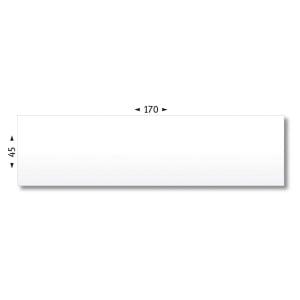 Boite de 1000 étiquettes d affranchissement agipa 170x45mm