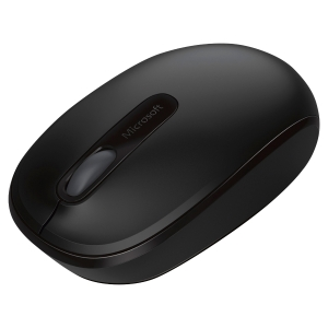 Souris MICROSOFT sans fil  wireless mobile mouse 1850 noire