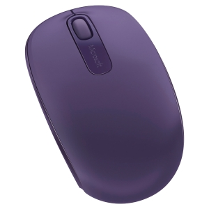 Souris sans fil Microsoft Wireless Mobile Mouse 1850 - violette
