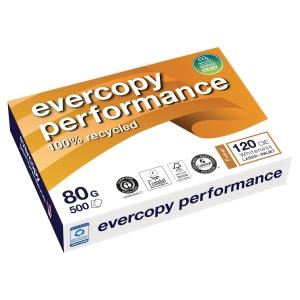 Evercopy Performance papier recyclé A4 80gr - ramette de 500 feuilles
