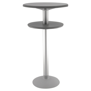 TABLE MANGE DEBOUT SOKOA POLYPROPYLENE ANTHRACITE