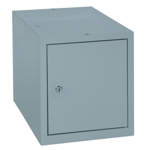 CASIER METAL MULTIBOX COMPACT ET MODULABLE 45X45 GRIS