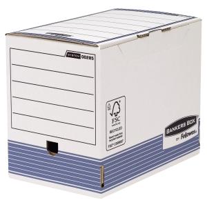 PAQUET DE 10 BOITES ARCHIVES AUTO SYSTEM A4 BANKERS BOX 20CM 28501