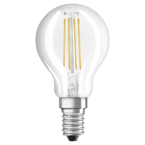AMPOULE OSRAM LED STAR SPHERIQUE 40W E14 CLAIRE