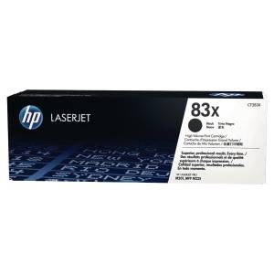Cartouche laser HP n°83X noire haute capacité