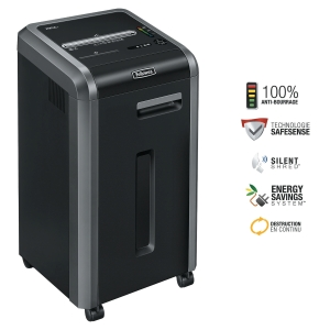 Destructeur Fellowes Powershred® 225Mi - coupe micro-particules