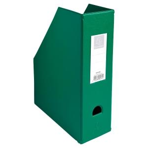 Porte-revues pp Exacompta dos de 10 cm vert A4 90163e