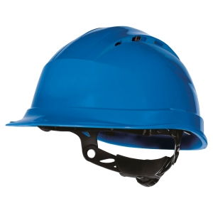 Casque ventilé Deltaplus Quartz UP IV bleu