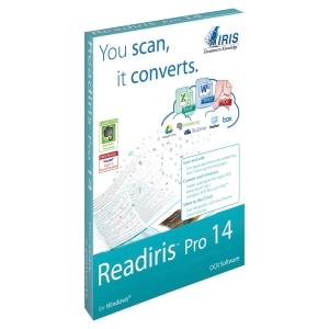 Logiciel readiris pro 14 pour imac - convertisseur fichier numérique