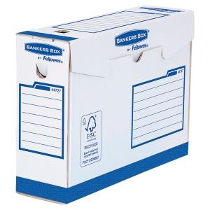 Boîte d archives Bankers Box A4+ - manuel - dos 10 cm - bleue - par 20