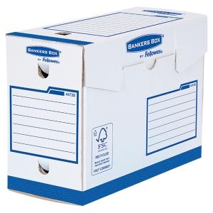 Boîte d archives Bankers Box A4+ - manuel - dos 15 cm - bleue - par 20
