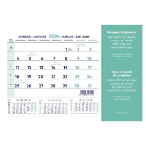 Tapis de souris Brepols - calendrier