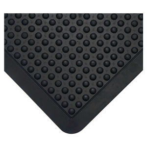 Tapis antifatigue Coba Bubblemat design à bulles 0,6 x 0.9 m noir