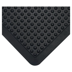 Tapis antifatigue Coba Bubblemat design à bulles 0.9 x 1.2 m noir