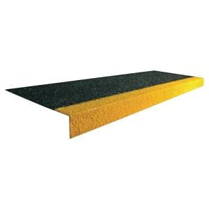 Couvre-marches COBAGRiP 1 m x 345 mm noir et jaune