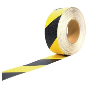 Bande antidérapante COBA GRIPFOOT auto adhésive 50 mm x 18,3 m noir et jaune
