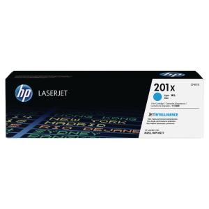Cartouche laser HP n°201X cyan haute capacité