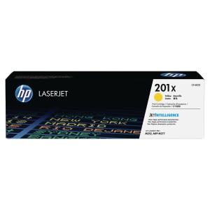 Cartouche laser HP n°201X jaune haute capacité