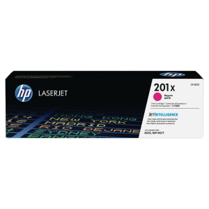 Cartouche laser HP n°201X magenta haute capacité