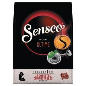 Senseo Noir Ultime - 32 dosettes