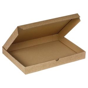 Lot de 50 boites postales extra plates 225x150x25mm brunes