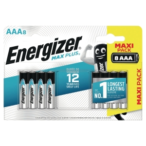 Pack 8 piles Energizer alcaline éco advanced AAA/LR3