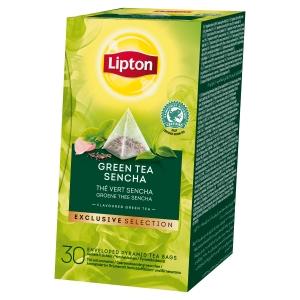 Boite de 30 sachets pyramide lipton the vert sencha